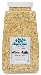 Dried Garlic, Gourmet Minced (20 oz)