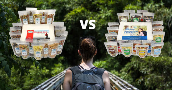 Harmony House Backpacking Soup & Chili Kit vs. the Trail Ready Soup & Chili Pack: Which is Right for You?