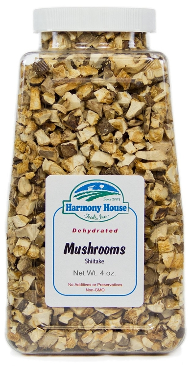 Dried Shiitake Mushrooms (4 oz)