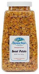 Dried Sweet Potatoes, Jar (16 oz)