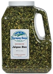 Dried Jalapeno Dices (22 oz)