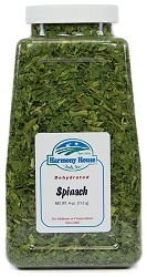 Dried Spinach Flakes (4 oz)