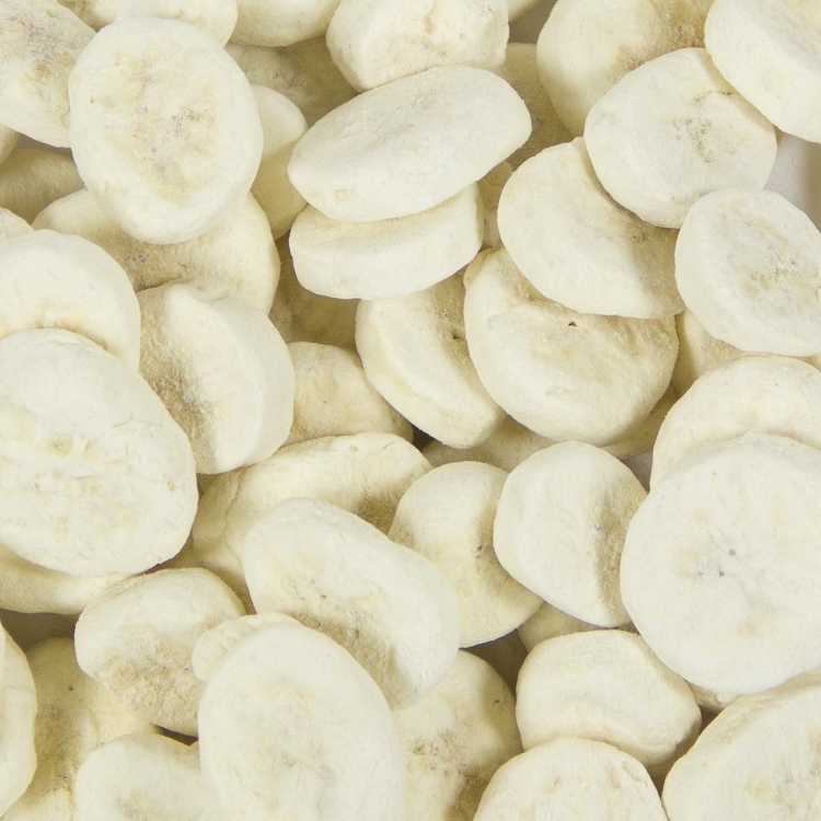 Freeze Dried Banana Slices (20 Lb. Wholesale Box)
