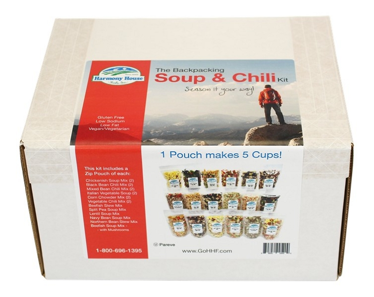 BACKPACKING Soup & Chili Kit (18 ct)