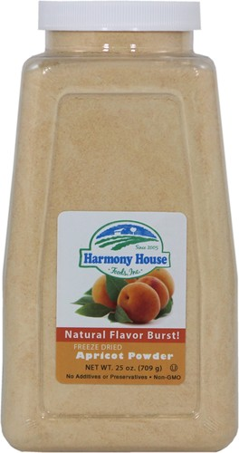 Freeze Dried Apricot Powder (4 Cups / 64 Tbs)