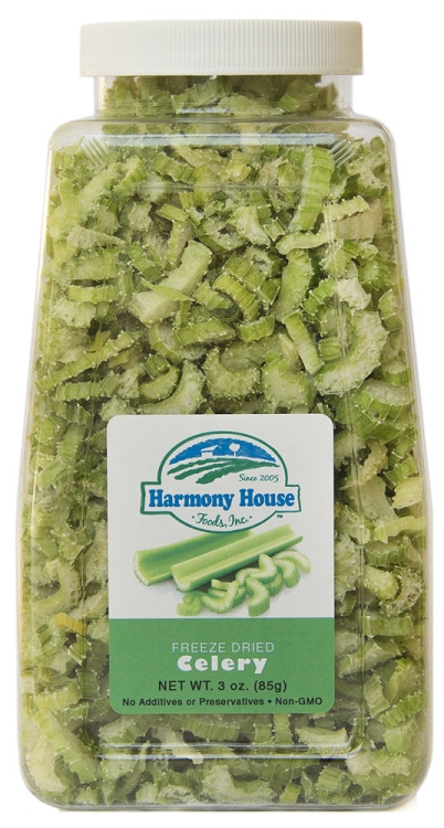 Freeze Dried Celery, crosscut (3 oz.)