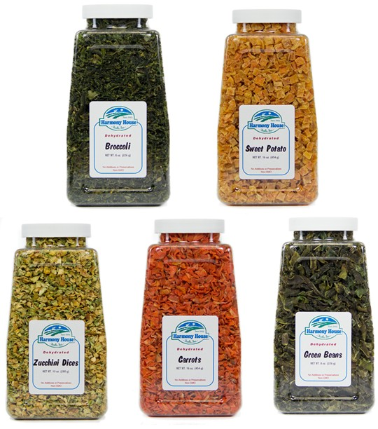 Harmony House Dried Vegetables