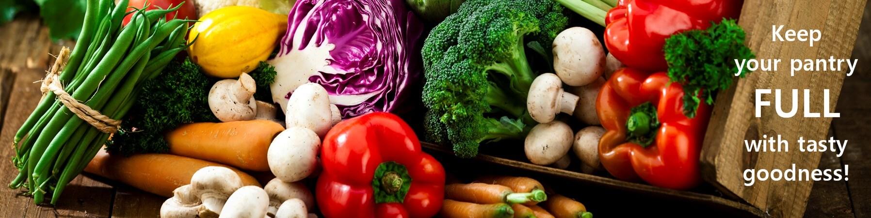 Dry Food Packs: Fresh Freeze-Dried Fruit and Dried Veggies