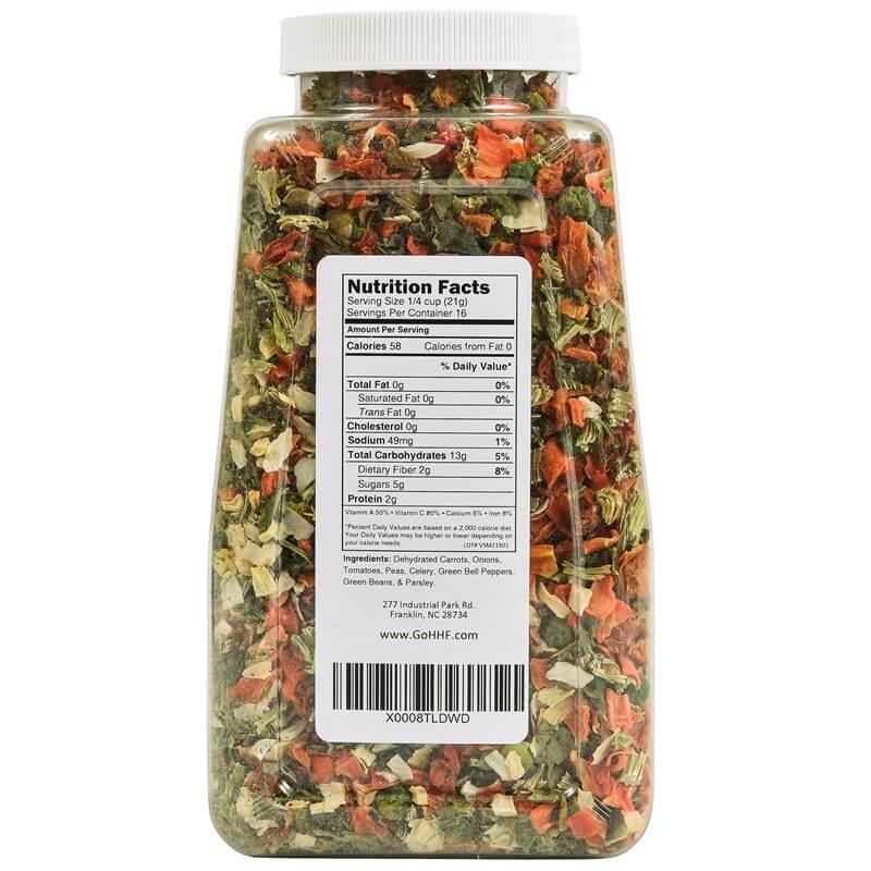 Dried Vegetable Soup Mix 12 Oz