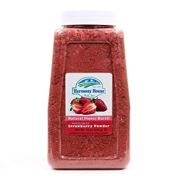 Freeze Dried Strawberry Powder & Bits (4 Cups)