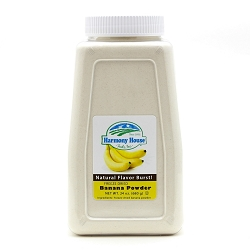 Freeze Dried Banana Powder (4 Cups / 64 Tbs)