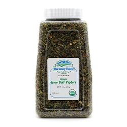 Organic Dried Green Bell Peppers (8.5 oz)