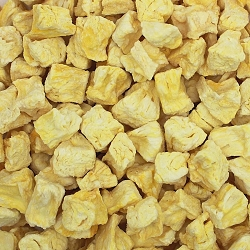 Freeze Dried Pineapple Chunks (25 Lb. Wholesale Box)