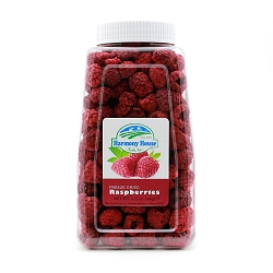 Freeze Dried Raspberries (3.5 oz)