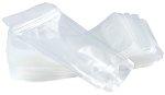 Clear ZIP Pouches, 2.5 Cup Size, Heavy Duty (50 Count)