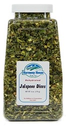 Dried Jalapeno Dices (6 oz)
