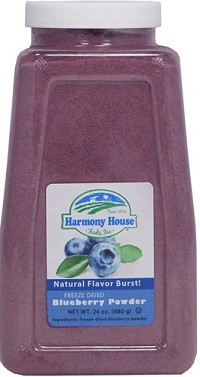 Freeze Dried Blueberry Powder (4 Cups / 64 Tbs)