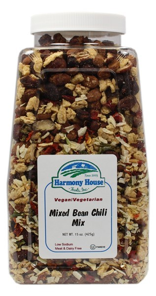 Mixed Bean Chili Mix - PLAIN (15 oz)