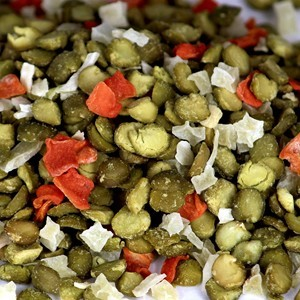 Split Pea Soup Mix - PLAIN (30 lb. Bulk Box)