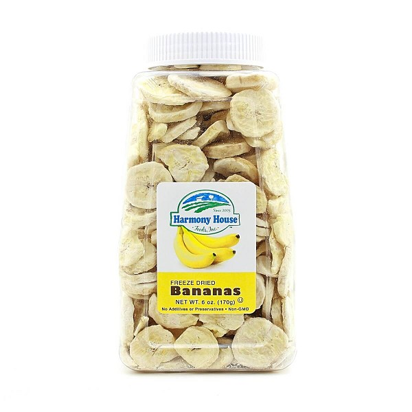 Freeze Dried Bananas (6 oz)