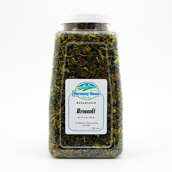 Dried Broccoli Flowerets (8 oz)