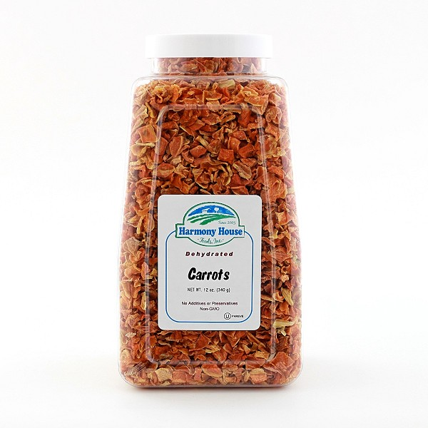 Dried Carrots (12 oz)