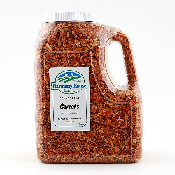 Dried Carrots (48 oz)