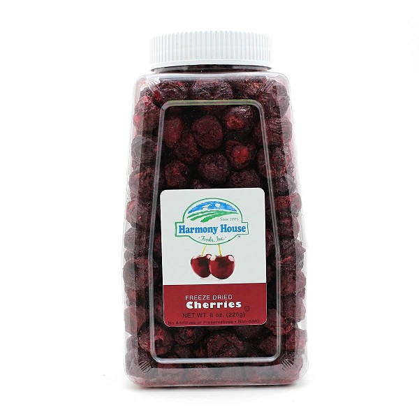 Freeze Dried Sweet Cherries (8 oz)