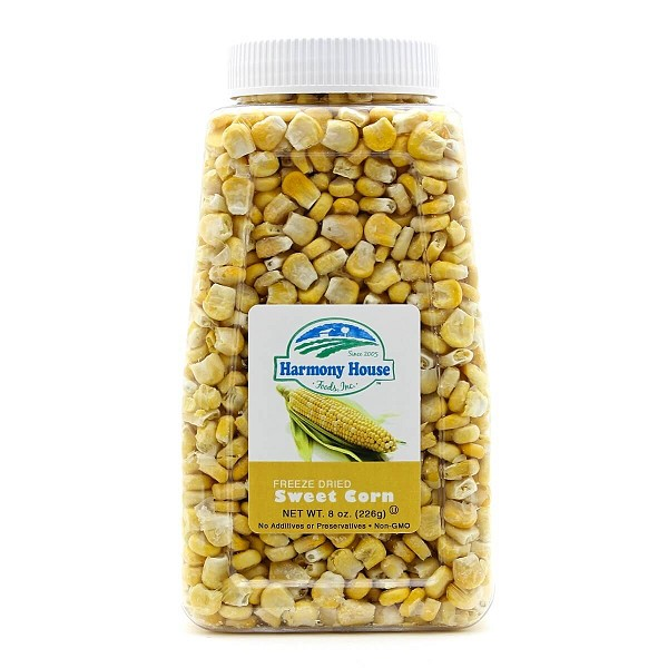 Freeze Dried Super Sweet Corn (6 oz)
