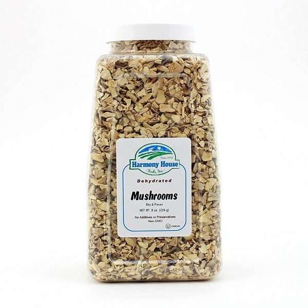 Dried Mushrooms, Bits & Pieces (6 oz)