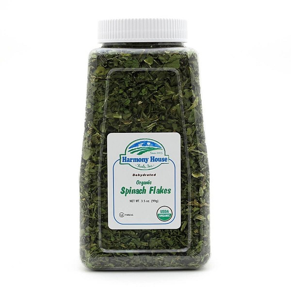Organic Dried Spinach Flakes (3.5 oz)