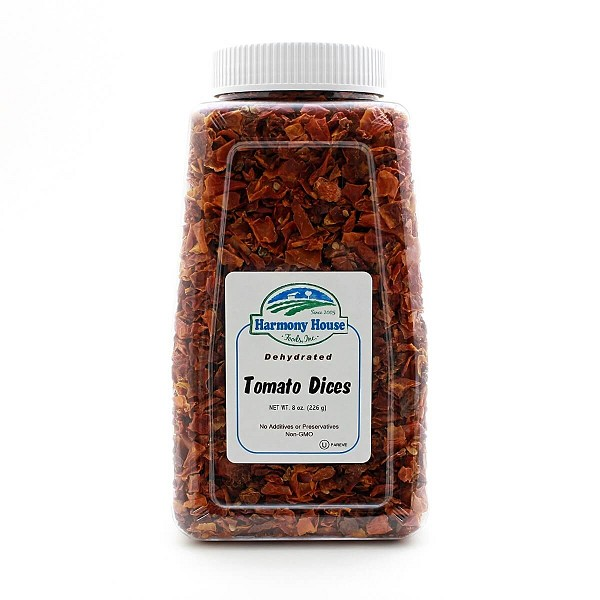 Dried Tomato Dices (10 oz)