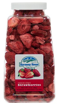 Freeze Dried Strawberries, Sliced (2 oz)