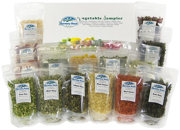 Vegetable Sampler(15 ZIP Pouches)